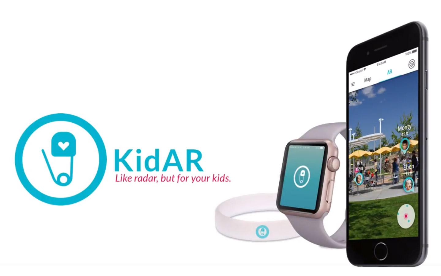 KidAR: Let your kids be free while keeping your mind at ease